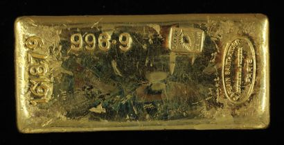 *Un lingot en or Caplain Saint André n°161879,...