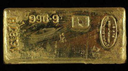 *Un lingot en or Caplain Saint André n°161878,...
