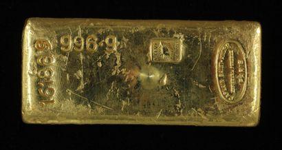 *Un lingot en or Caplain Saint André n°161869,...