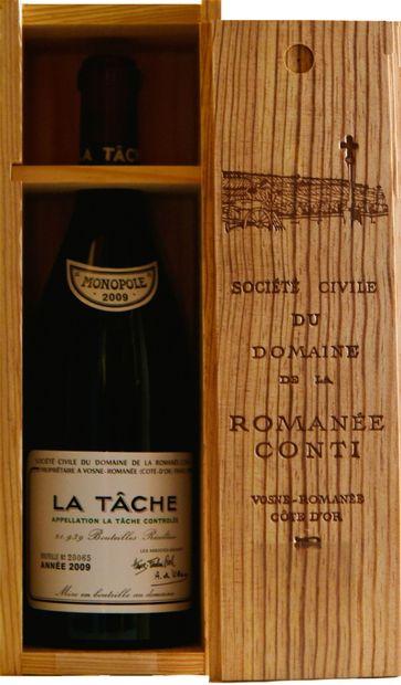 1 bouteille LA TÂCHE, Domaine de la Romanée-Conti...