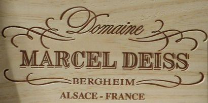 """6 bouteilles, ALSACE, """"Altenberg de Bernheim"""", Marcel Deiss ,(Millésimes 2007/2009/2011/2002/2004/2015)..."""