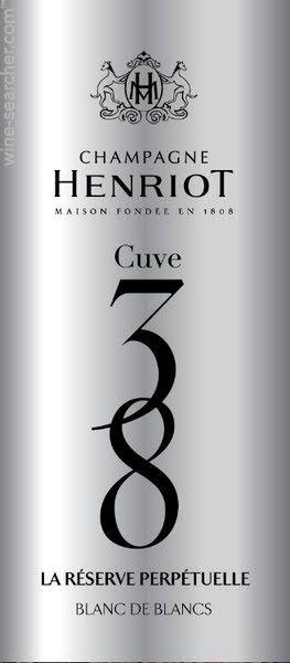 """1 magnum CHAMPAGNE , """"cuve 38"""", Henriot, Blanc de Blancs """"réserve perpétuelle"""",..."""