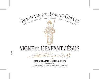 """1 magnum BEAUNE """"Grèves, Vigne de l'Enfant Jésus"""", Bouchard PF 2008"""