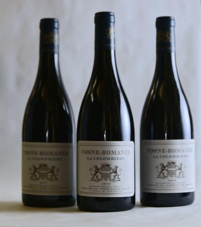 3 bouteilles VOSNE-ROMANÉE