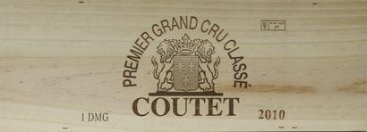 1 double-magnum Château COUTET, 1° cru...