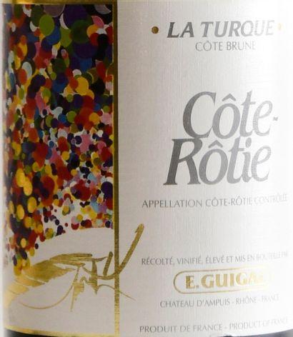 """1 bouteille, CÔTE-RÔTIE , """"La Turque"""", GUIGAL, 2013"""
