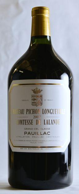 1 double-magnum Château PICHON-LONGUEVILLE-COMTESSE...