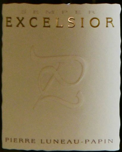 """3 magnums, MUSCADET ,""""Excelsior"""", Luneau-Papin, 2015"""