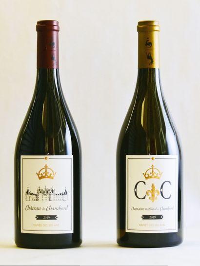 2 bouteilles, Château de CHAMBORD