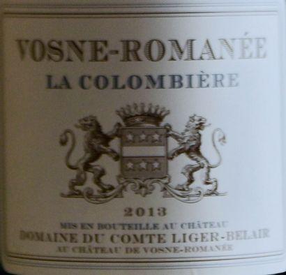 """3 bouteilles VOSNE-ROMANÉE """"La Colombière"""", Domaine Comte Liger-Belair 201..."""