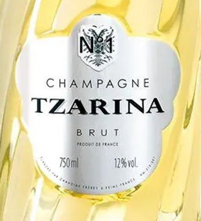 """1 magnum CHAMPAGNE, """"Tzarina n°1"""", Tsarine"""
