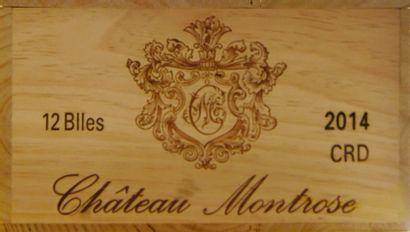 12 bouteilles Château MONTROSE, 2° cru...
