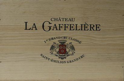 6 bouteilles Château LA GAFFELIÈRE, 1°...