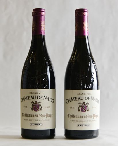 2 bouteilles, CHÂTEAUNEUF-DU-PAPE,