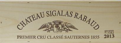1 magnum Château SIGALAS-RABAUD, 1° cru...