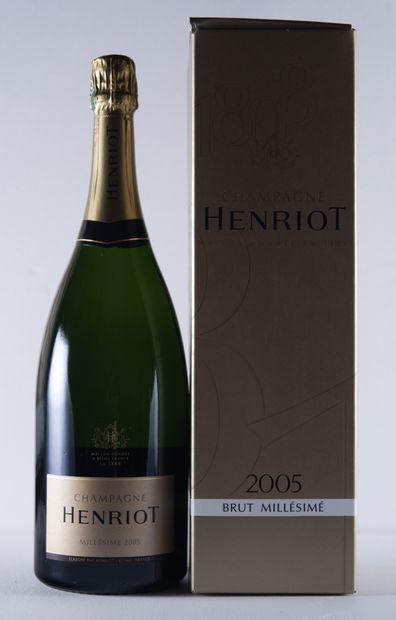 1 magnum CHAMPAGNE, Henriot, 2005  , (ét...