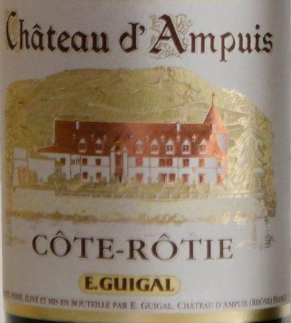"""2 bouteilles, CÔTE-RÔTIE , """"Château d'Ampuis"""", GUIGAL, 2014"""