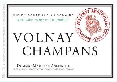 "1 magnum VOLNAY ""Champans 1er cru"", Marquis d'Angerville 2017"