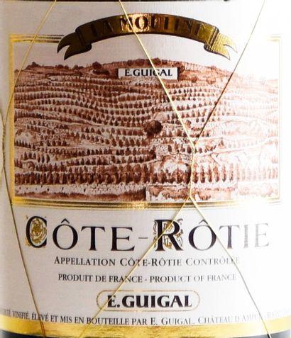 """1 bouteille ,CÔTE-RÔTIE, """"La Mouline"""", GUIGAL, 2013"""