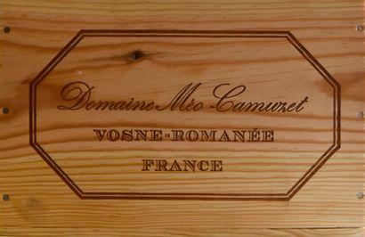 6 bouteilles CLOS VOUGEOT, Méo-Camuzet...