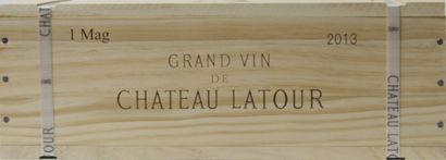 1 magnum Château LATOUR, 1° cru Pauillac...