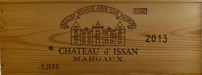 1 jéroboam Château D'ISSAN, 3° cru Margaux...