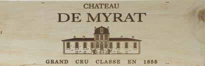 1 magnum Château MYRAT, 2° cru Sauternes...