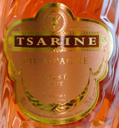 1 magnum CHAMPAGNE rosé,Tsarine
