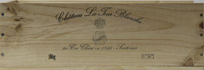 1 magnum Château LA TOUR BLANCHE, 1° cru...