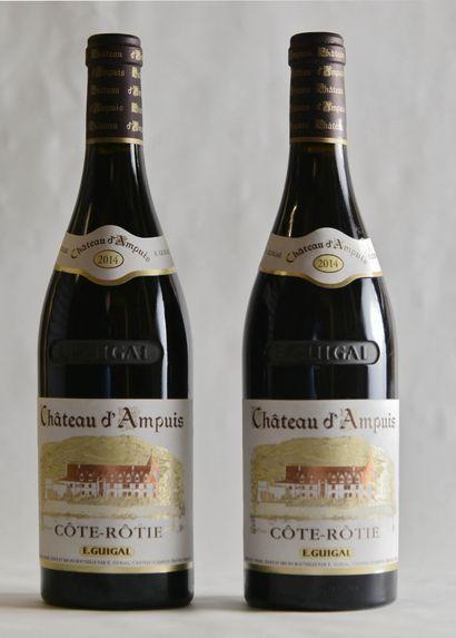 2 bouteilles, CÔTE-RÔTIE ,