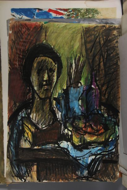 Adriaen van der CABEL (1631-1705) - Ludovic KLIMEK (1912-1992) - Zamy STENOVITZ...