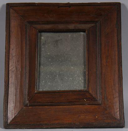 Glace rectangulaire en bois naturel  45 x...