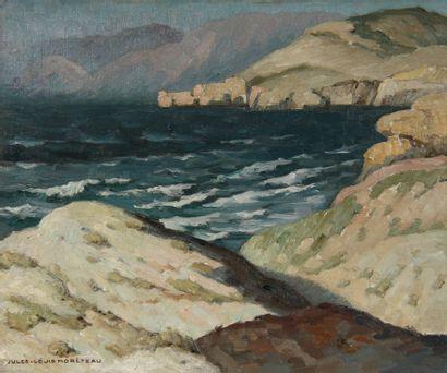 Jules-Louis MORETEAU (1886-1950)  Les dunes...