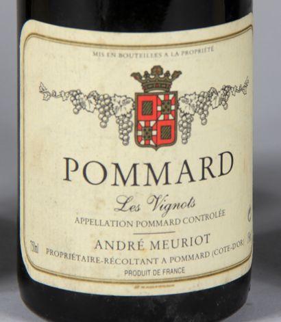 3 b. POMMARD Les Vignots 1992 André Meuriot