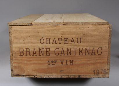 11 b. château BRANE CANTENAC 1978 en cb