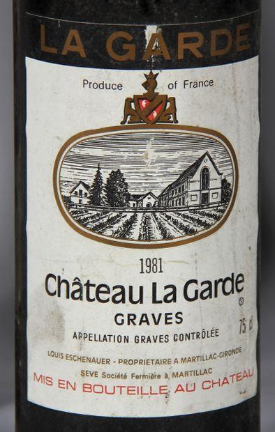 5 b. château LA GARDE 1981