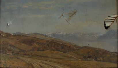 Charles François VUILLERMET (1849-1918)  Paysage...