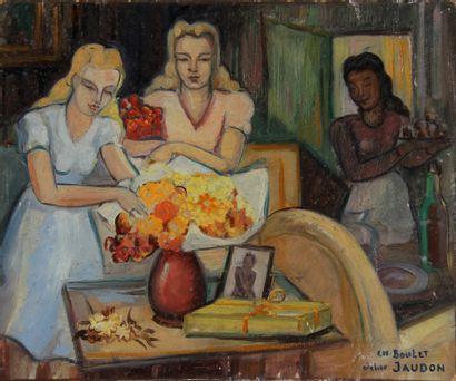 Charles BOULET (1895-1969) - Atelier JAUDON...