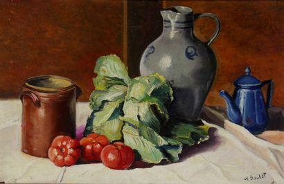 Charles BOULET (1895-1969)  Nature-morte...