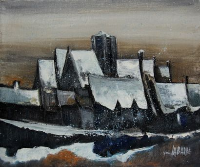 Yvon LABARRE (1943-2008)  La prison de glace...