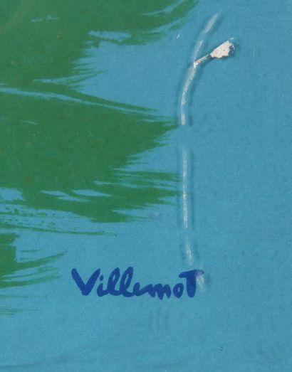 Bernard VILLEMOT (1911-1990) - Hubert BAILLE co imprimeur  Air France : France,...