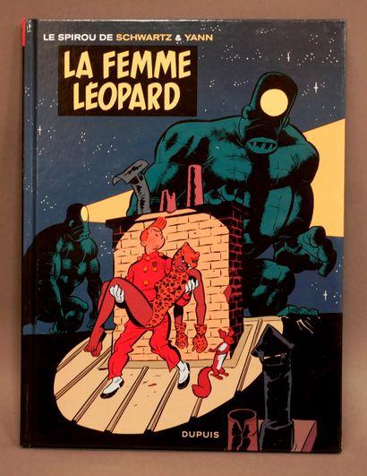 SCHWARTZ, YANN  Spirou Fantasio - La femme...