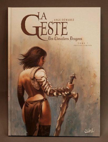ANGE, DÉMAREZ  La Geste des Chevaliers Dragons...