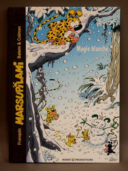BATEM, COLMAN  Marsupilami - Magie Blanche...