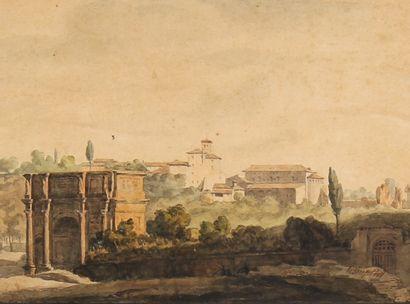 *Pierre Louis DUPLAT (1795-1870)  Arc de...