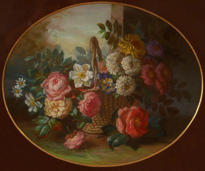*Louis Eugène BOURGEOIS (1831-1878)  Nature-morte...