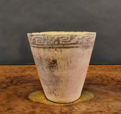 Vase à décor géométrique  Culture Chancay,...