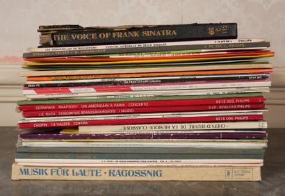 *Lot de disques vinyles