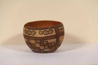 Bol décoré de motifs géométriques  Culture...