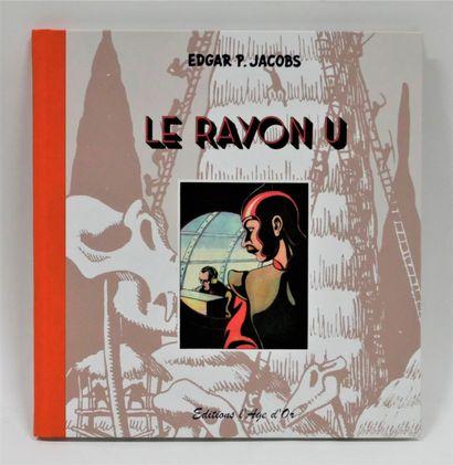 JACOBS  Le Rayon U - Ed. Age d'Or, Charleroi...